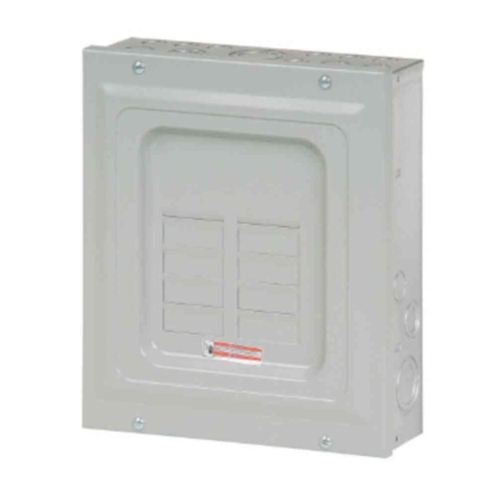 BR 125 Amp 6-Space 12-Circuit Indoor Main Lug Loadcenter with Surface