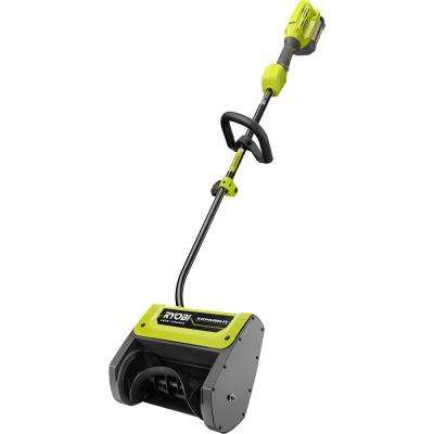 12 in. 40-Volt Lithium-Ion Cordless Electric Attachment Capable Snow Shovel with 4 Ah Battery and Charger