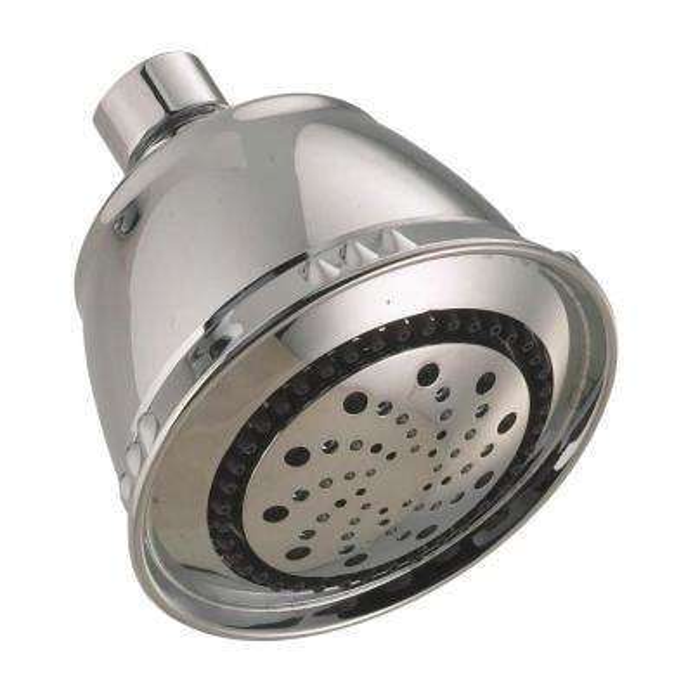 5-Spray 3.75 in. Fixed Showerhead in Satin Nickel