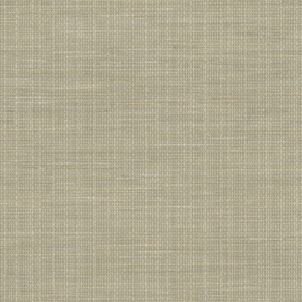 Silver Grasscloth Wallpaper: Chesapeake Kent Grey Faux Grasscloth Wallpaper Sample