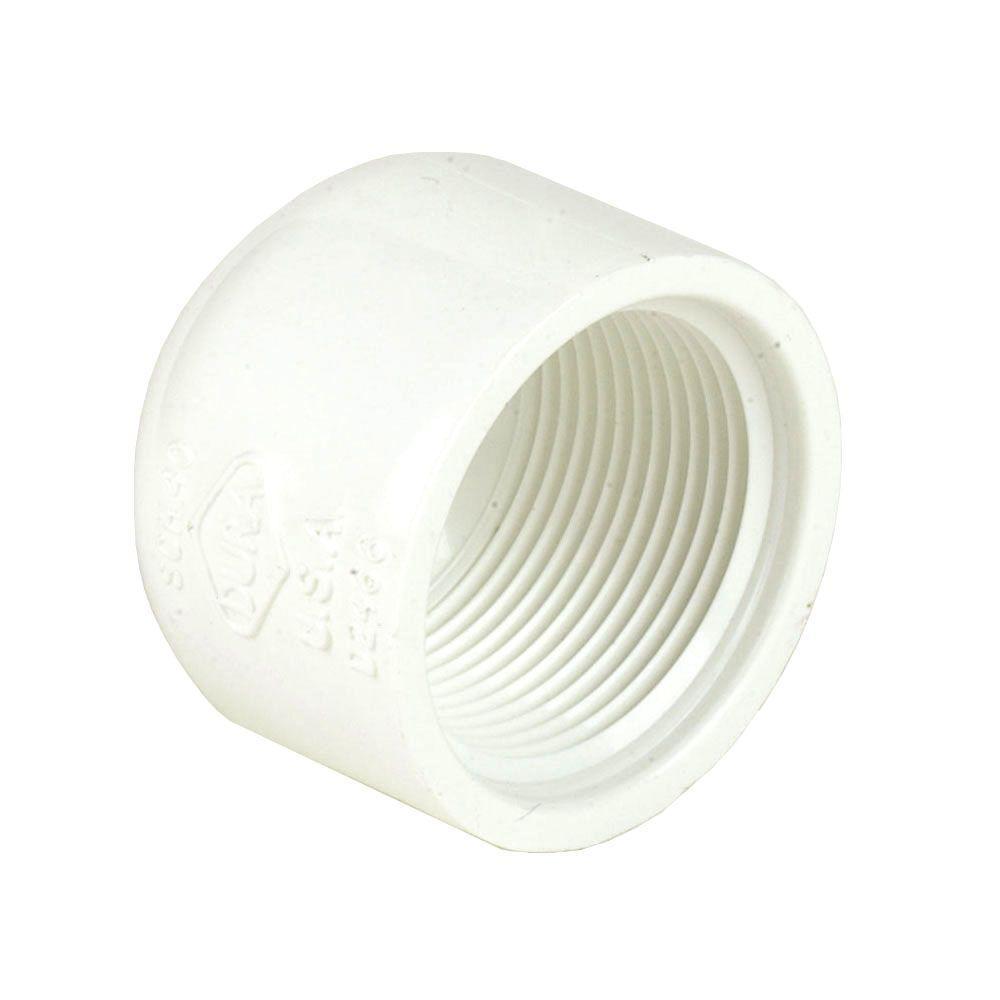 4 in. Schedule 40 PVC Cap FPT