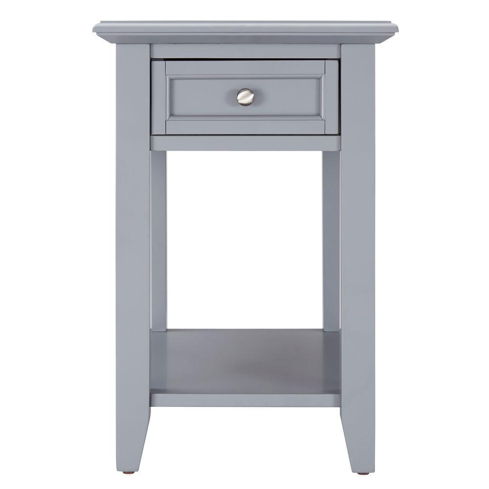 Harrison Grey Side Table