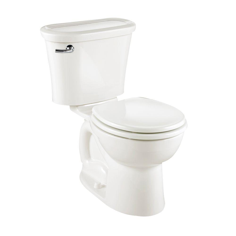 American Standard Tropic 2-piece 1.6 GPF Round Toilet in White-DISCONTINUED