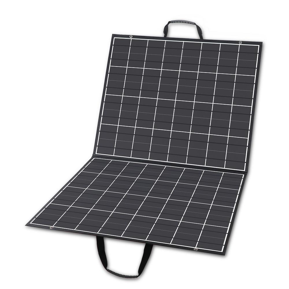 100-Watt Foldable Solar Panel Kit Charger