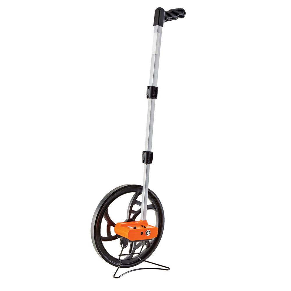 Keson 0.318 m Measuring Wheel with Telescoping Handle (5 Digit Counter)