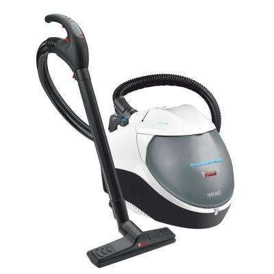 EcoSteamVac Dual Corded Water Filter Steam and Vacuum Cleaner with Accessories
