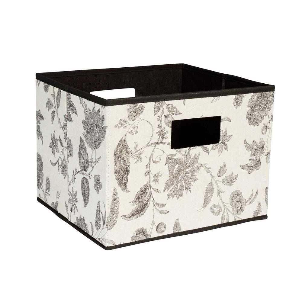 13 in. x 10 in. Deluxe Open Storage Bin with Cutout