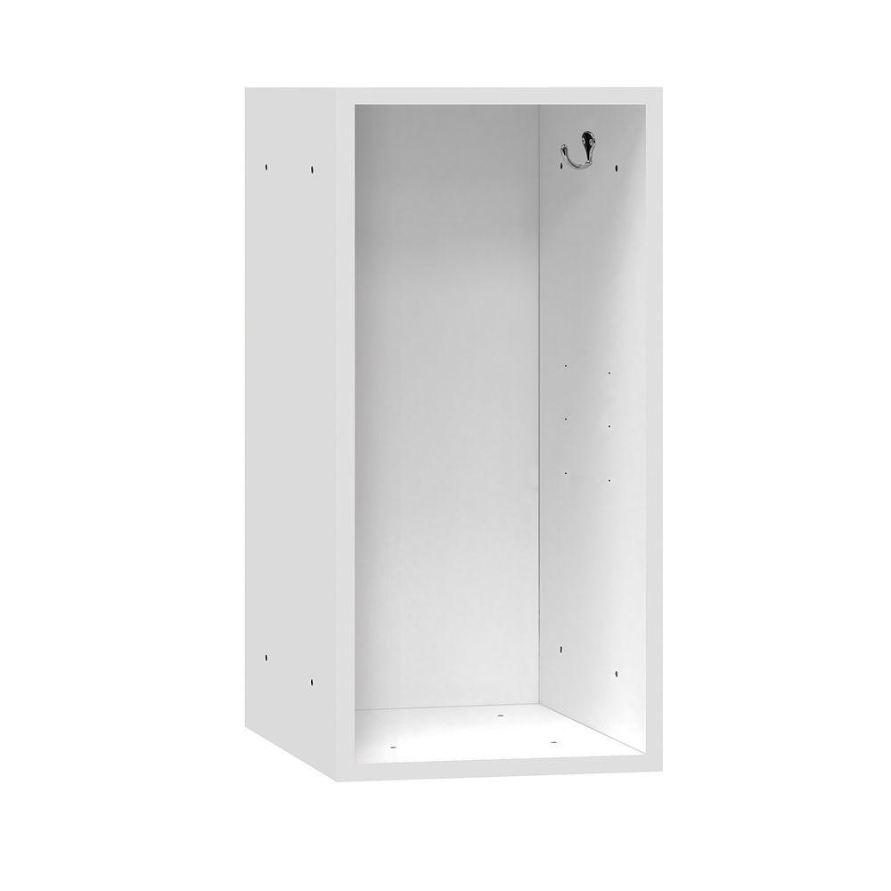 Salsbury Industries 31000 Series 15 in. W x 30 in. H x 15 in. D Wood Cubby in White