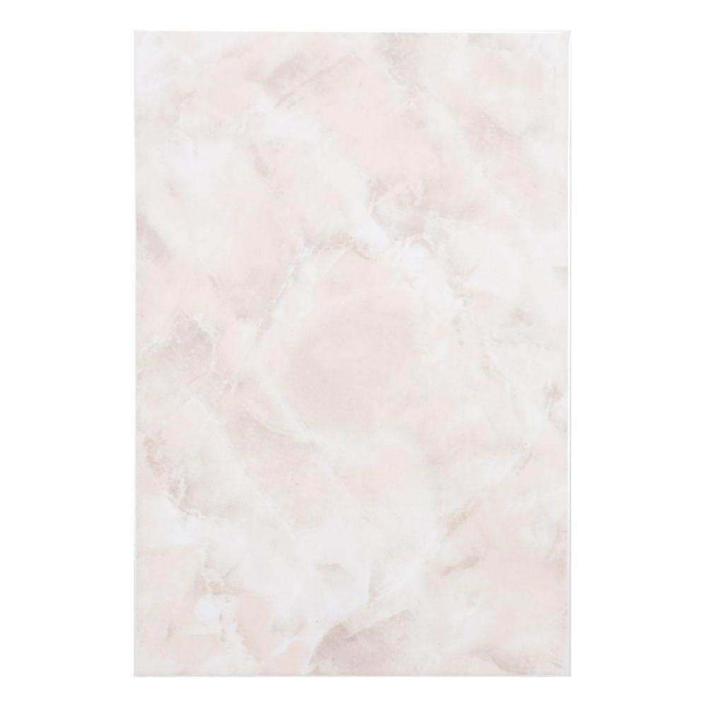 Merola Tile Gamma Rosa 7-3/4 in. x 11-3/4 in. Ceramic Wall Tile (11 sq. ft. / case)
