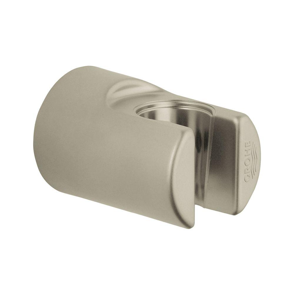 Superior GROHE Relexa Wall Mount Hand Shower Holder In Brushed Nickel  InfinityFinish 28622EN0   The Home Depot