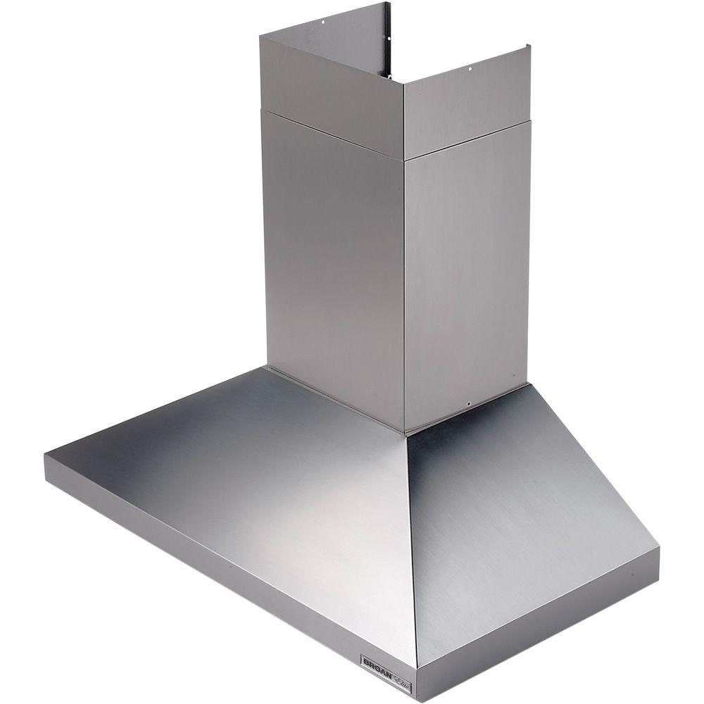 Broan Elite 61000 48 In Chimney Range Hood In Stainless