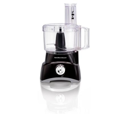 8-Cup 2-Speed Black Food Processor and Vegetable Chopper