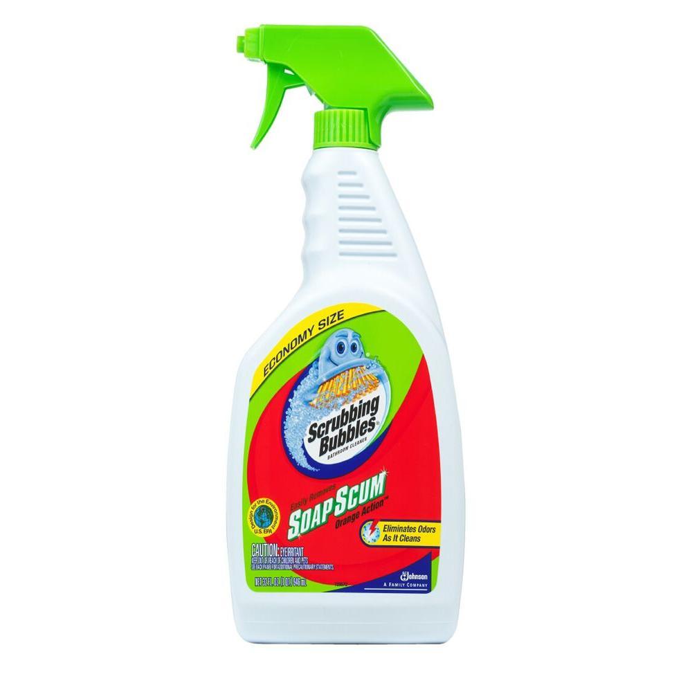 Scrubbing Bubbles 32 oz. Bathroom Cleaner Orange Action Trigger (12-Pack)