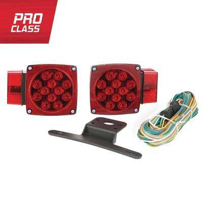 80 in. Over and Under LED Trailer Light Kit