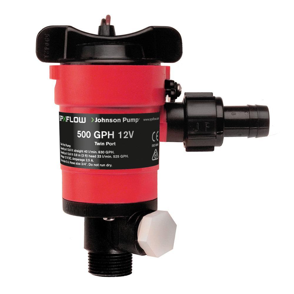 Johnson Pump 38503 500 GPH 90 Degree Cartridge Aerator Pump 38503