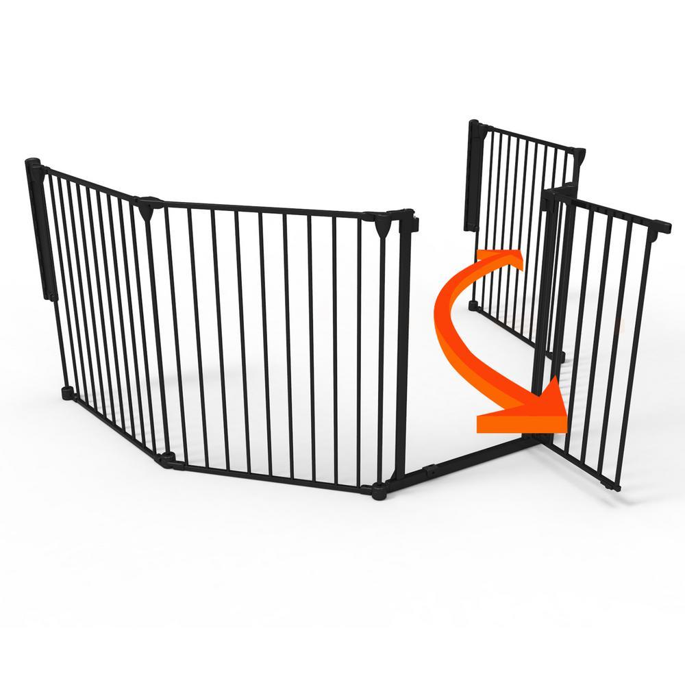 Cardinal Gates Child Proof Door Guardian In Satin Nickel 2 Pack