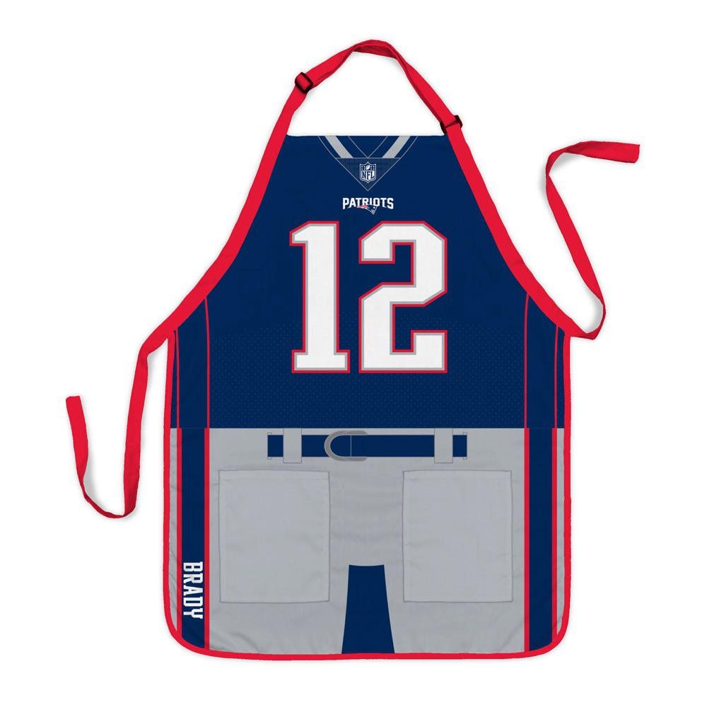 official photos 9b2c1 f1ab6 Party Animal Tom Brady New England Patriots NFL Jersey Apron