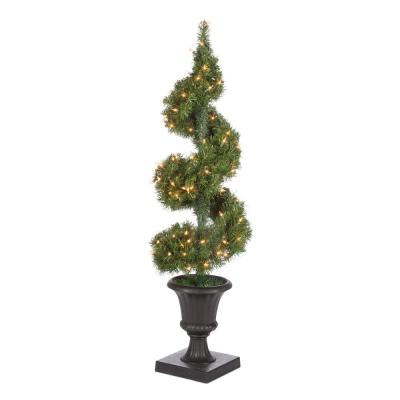4 ft. Potted Spiral Tree