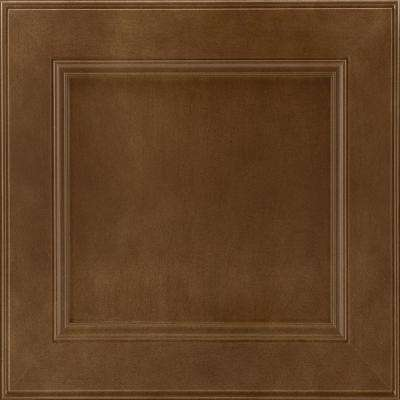 14-9/16 x 14-1/2 in. Cabinet Door Sample in MacArthur Maple Truffle