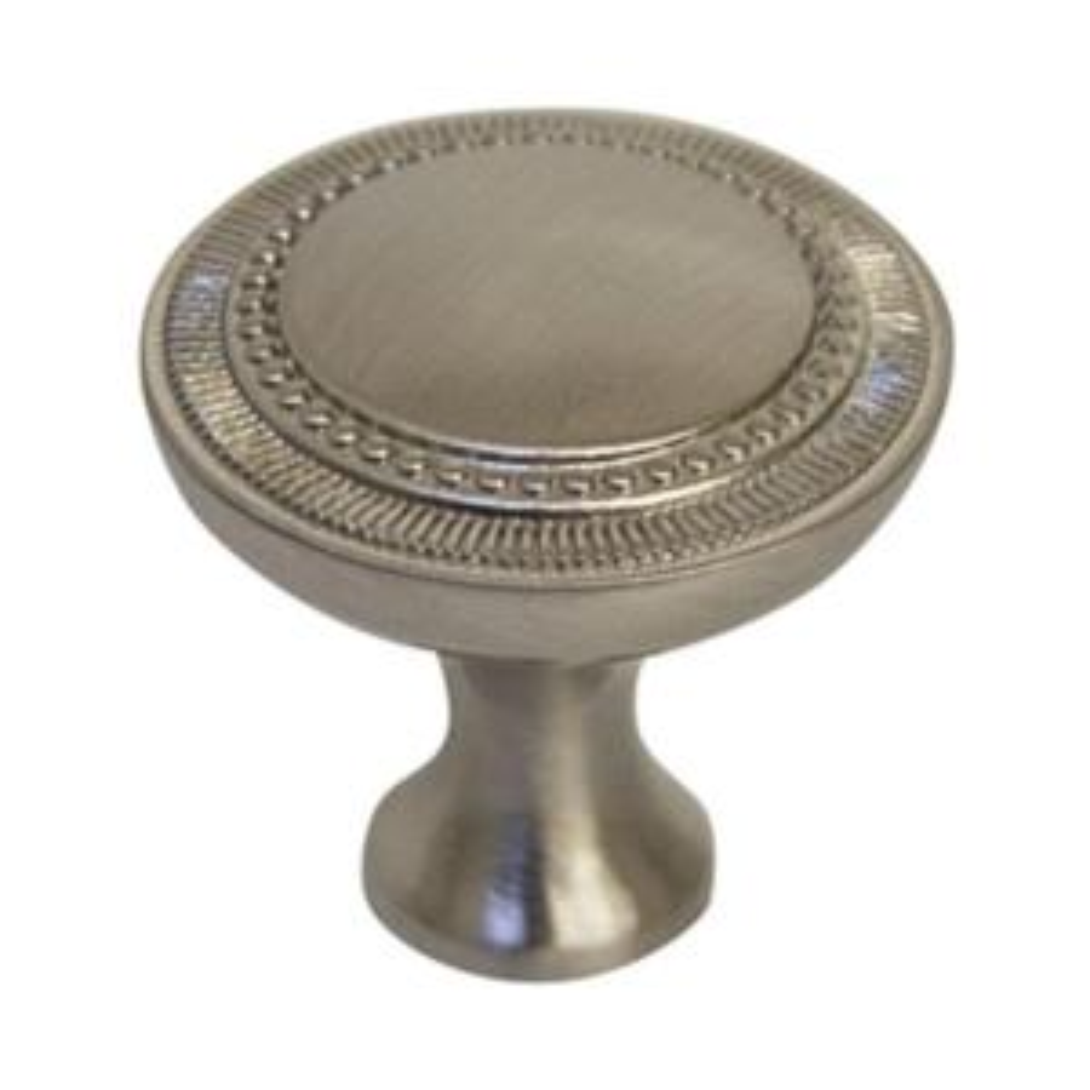 Design House Regal 1-1/4 in. Brushed Nickel Cabinet Hardware Knob ...
