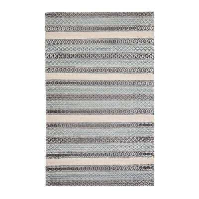 Jim-Dandy Blue 2 ft. 6 in. x 8 ft. Area Rug