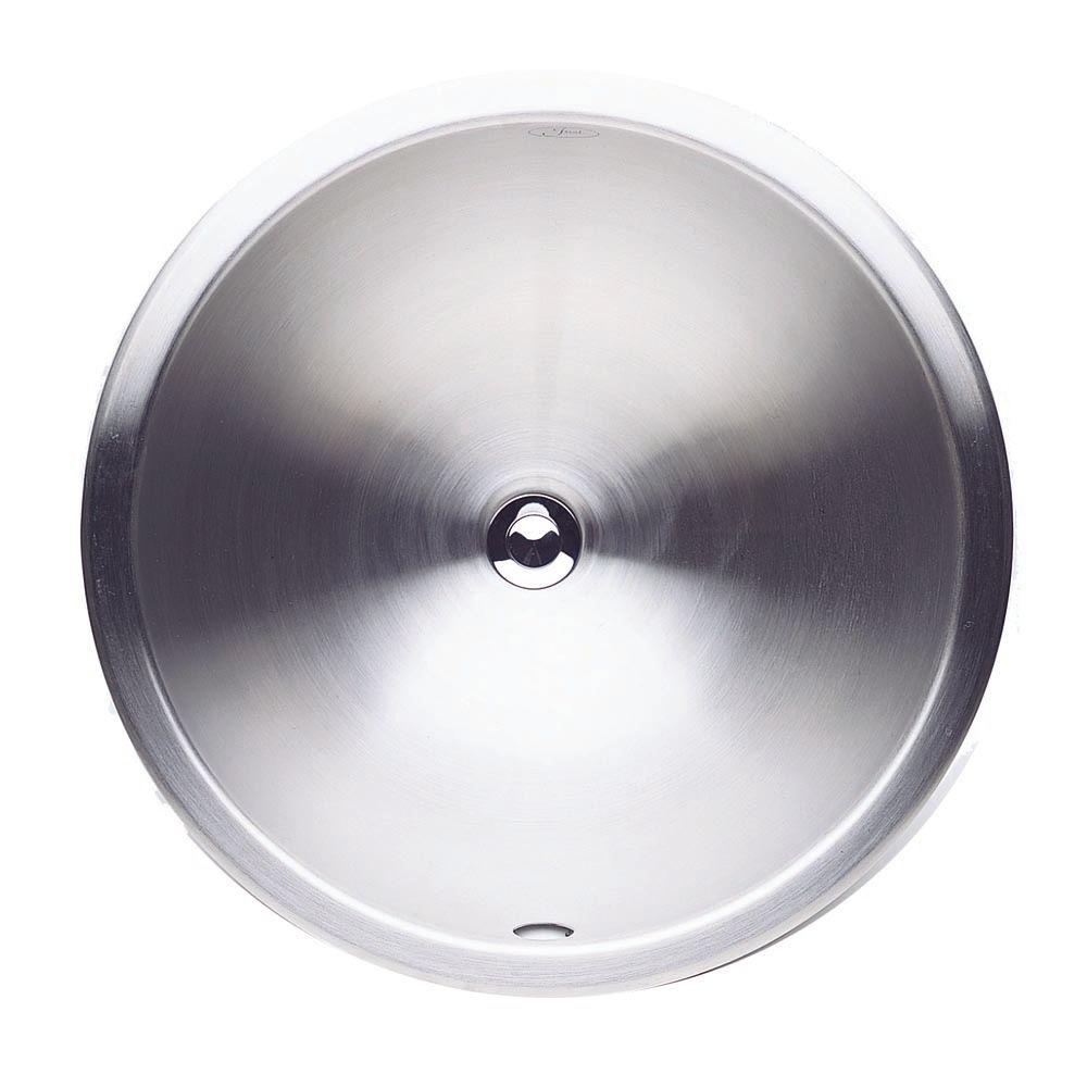 Blanco Devon Dual Deck Self-Rimming Bathroom Sink in Stainless Steel-DISCONTINUED
