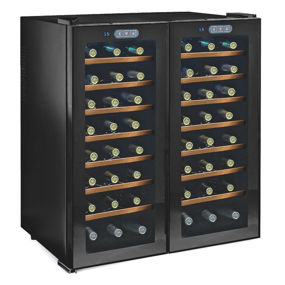 wine enthusiast silent 48 wood shelves