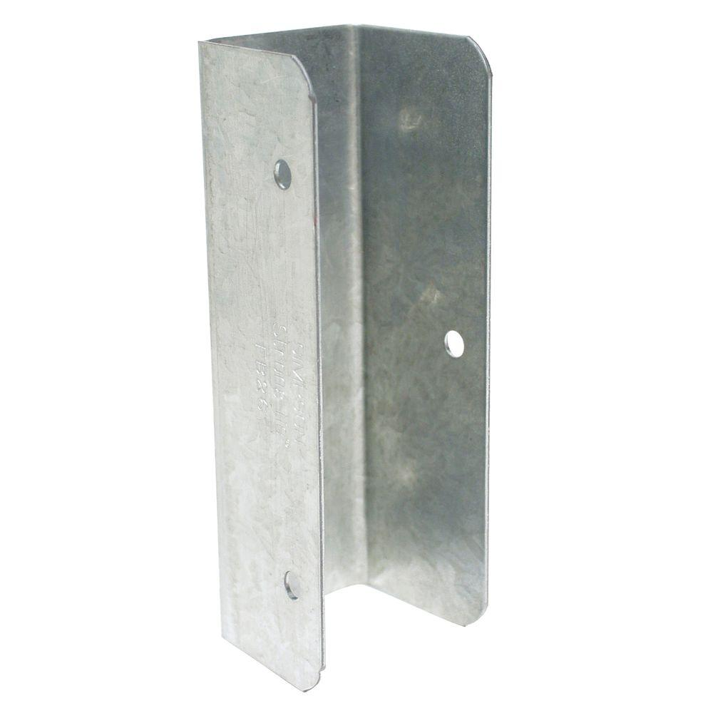 Simpson Strong-Tie FB Galvanized Fence Rail Bracket for 2x6 Nominal Lumber