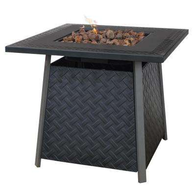32 in. Propane Gas Fire Pit