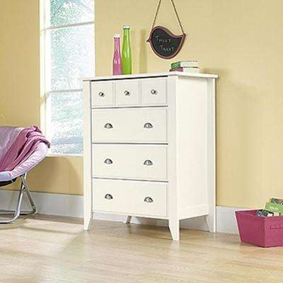 white bedroom dressers. Shoal Creek 4 Drawer Soft White Chest  Dressers Chests Bedroom Furniture The Home Depot