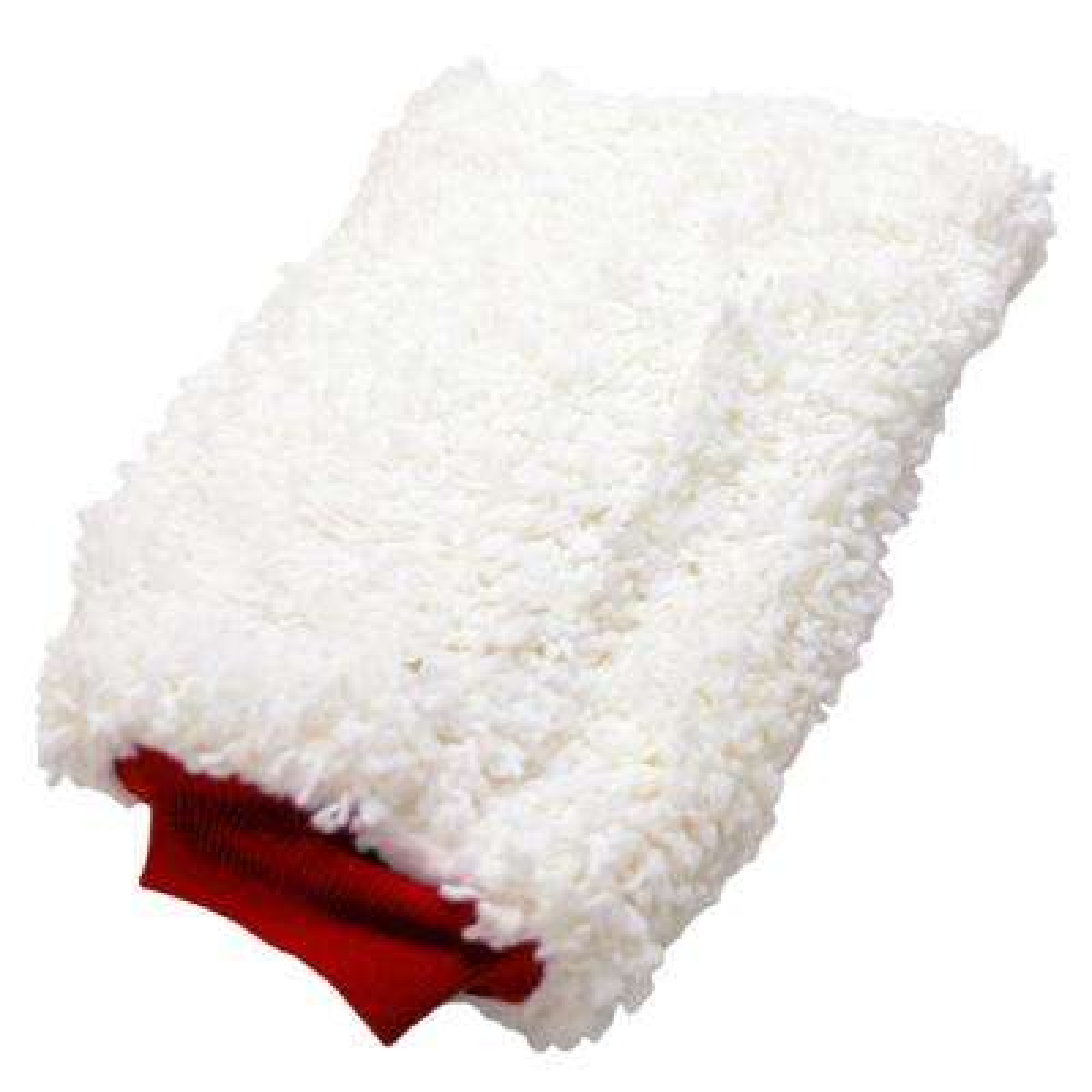 Foam Lined Chenille Wash Mitt