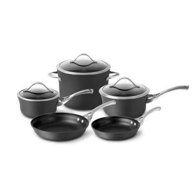 Contemporary 8-Piece Non-Stick Cookware Set