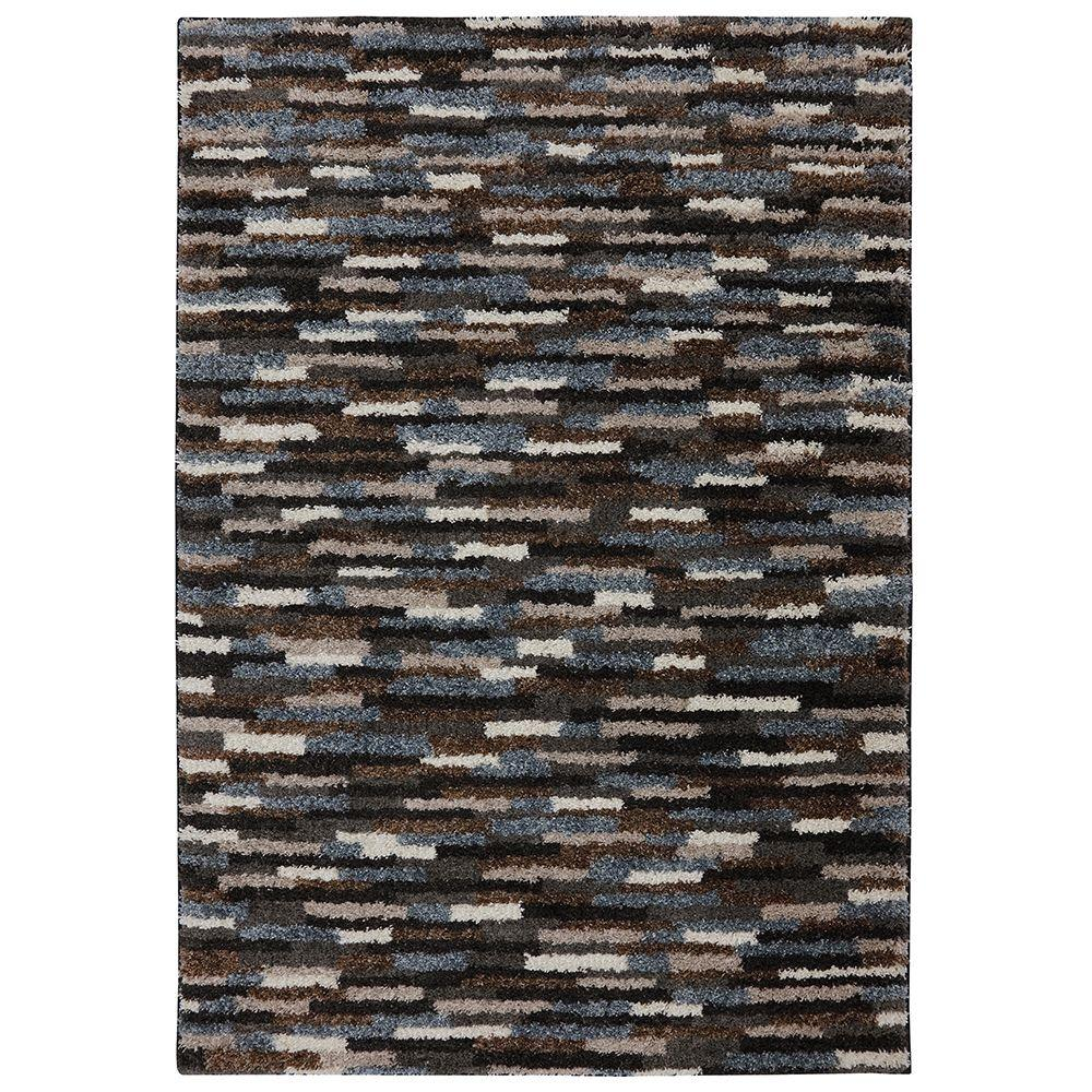 Mohawk Home Mesa Black 5 Ft X 8 Ft Area Rug 472474 The