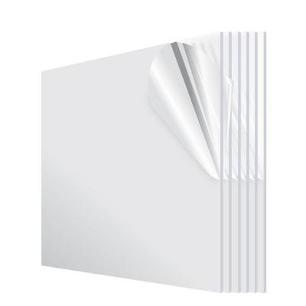 24 in. x 24 in. x 1/8 in. Clear Plexiglass Acrylic Sheet (6- Pack)