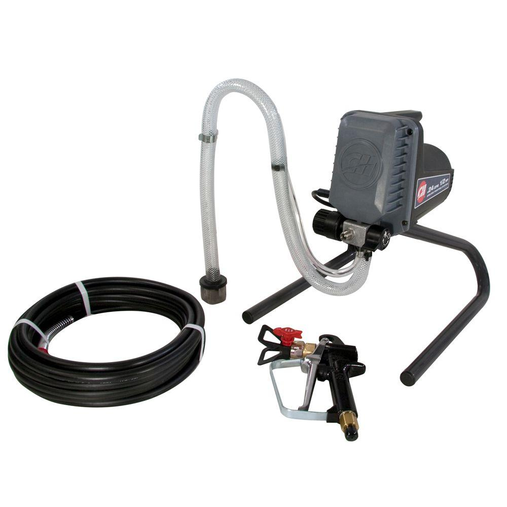 Campbell Hausfeld 1/2 HP, .24 GPM Compact Airless Paint Sprayer w/25 ft. Hose, Standard Gun-DISCONTINUED