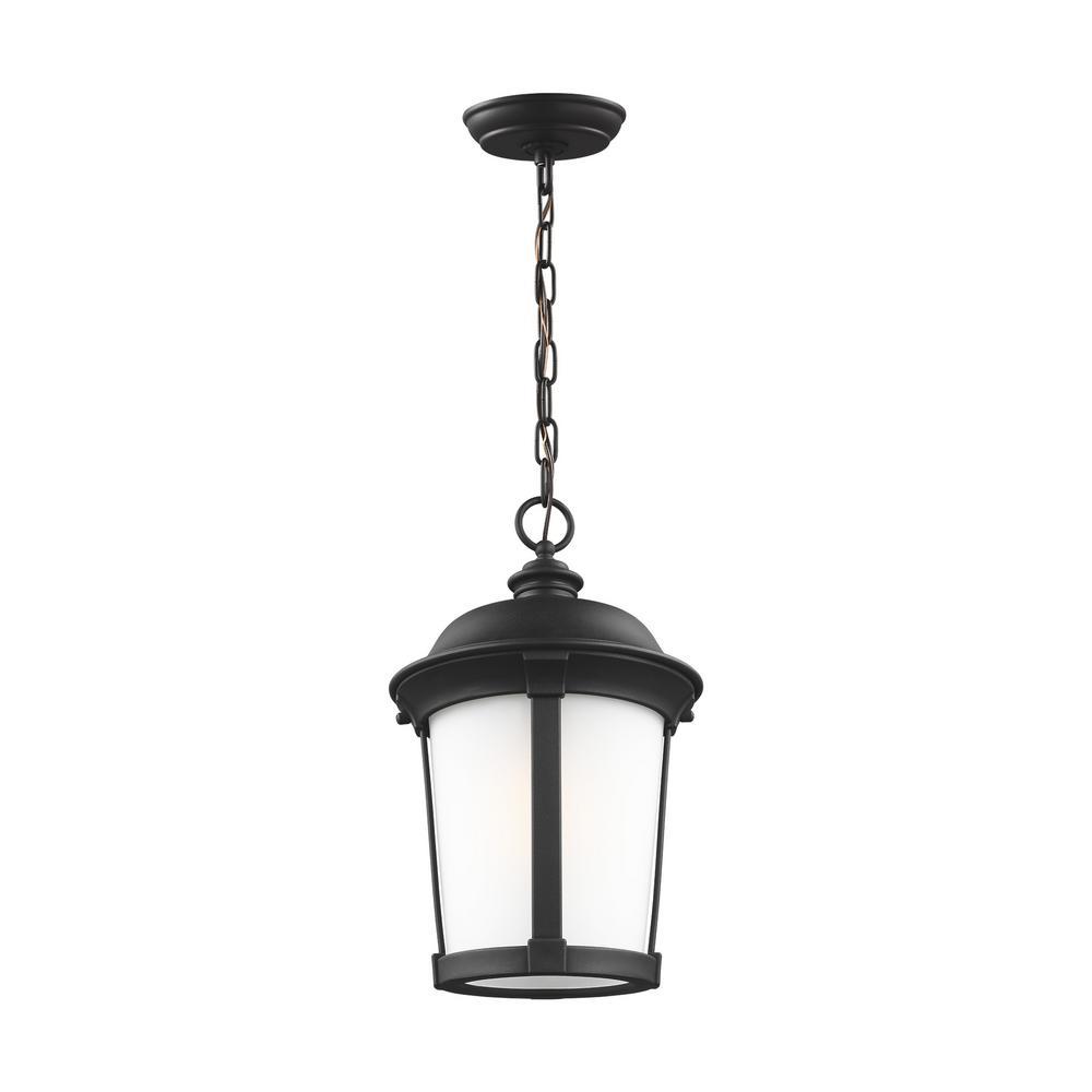 Calder Black 1-Light Hanging Pendant