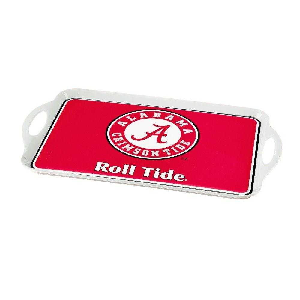 NCAA Alabama Crimson Tide Melamine Serving Tray