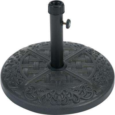 Hammond Patio Umbrella Base in Black