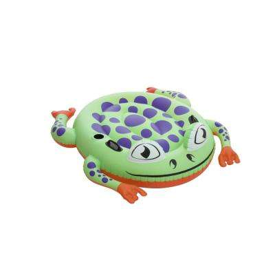 64 in. x 59 in. Supersized Frog Rider Float