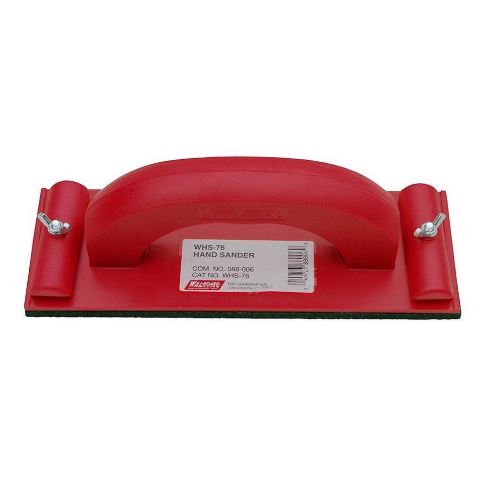 Wal-Board Tools 3-1/4 in. x 9-1/4 in. Plastic Hand Sander