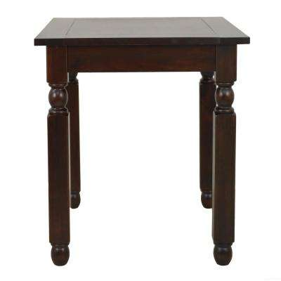 Traditions Dark Mahogany End Table. Mahogany   Accent Tables   Living Room Furniture   The Home Depot