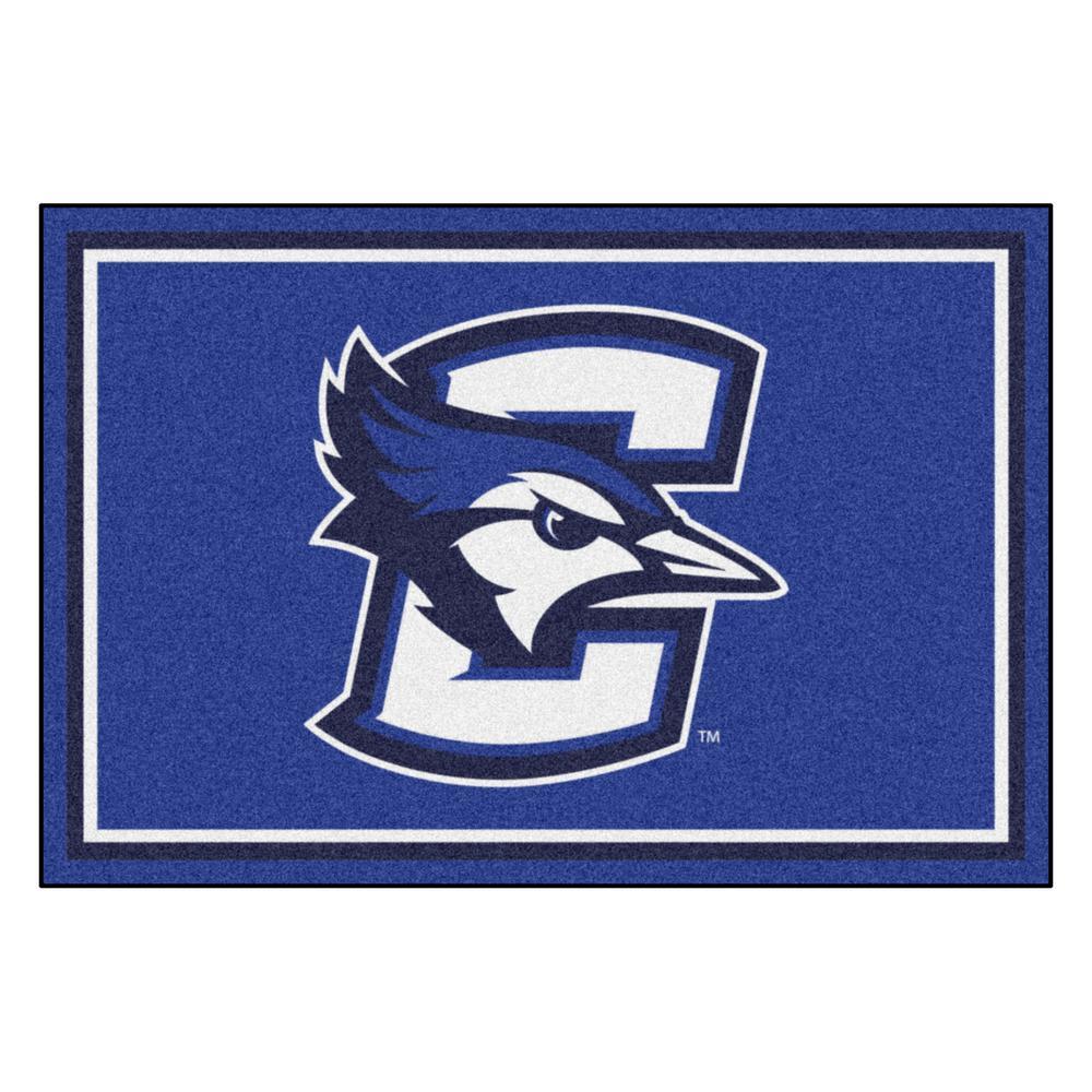 FANMATS NCAA - Creighton University Blue 8 ft. x 5 ft. Indoor Area Rug