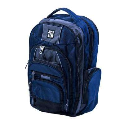 Big Unit 19 in. Navy Laptop Backpack