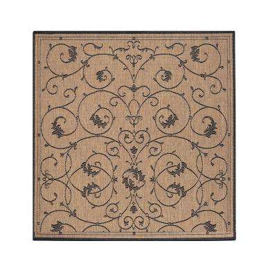 Tendril Cocoa 8 Ft 6 In Square Area Rug