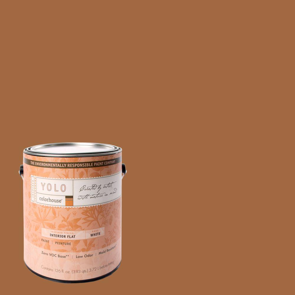 YOLO Colorhouse 1-gal. Clay .03 Flat Interior Paint-DISCONTINUED