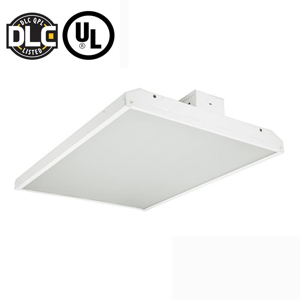 120-Watt 2 ft. White Integrated LED Linear High Bay Fixture with