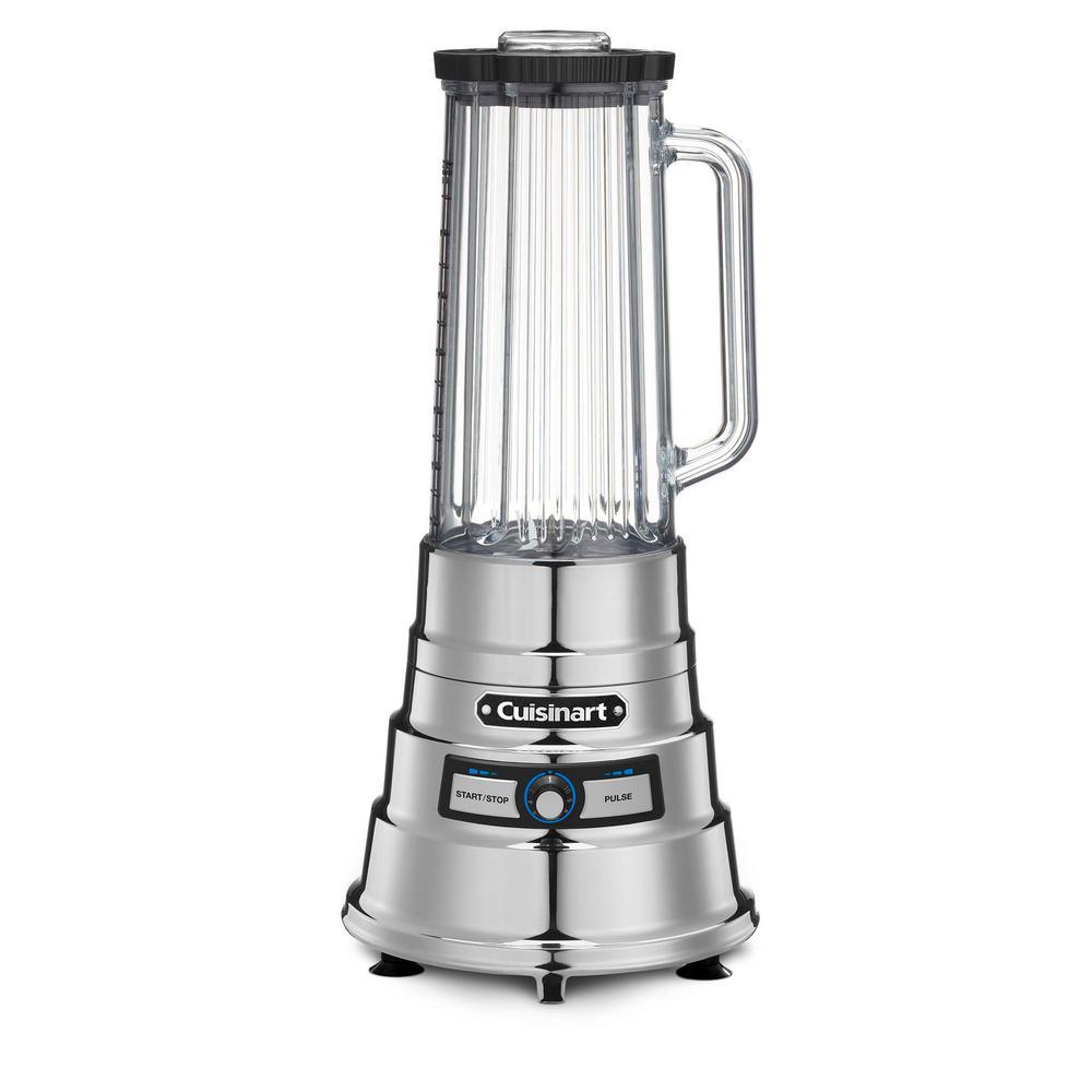 Cuisinart 56 oz. 2-Speed Silver Inverted Blender with Plastic Jar CBB-1200