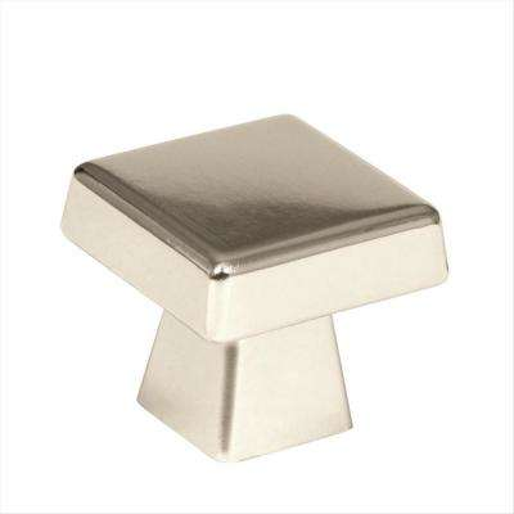 Blackrock 1-1/2 in. L (38 mm) Polished Nickel Cabinet Knob
