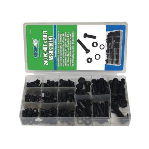 Grand Rapids Industrial Products Grip Nut and Bolt Assortment - 240 pc by Grand Rapids Industrial Products