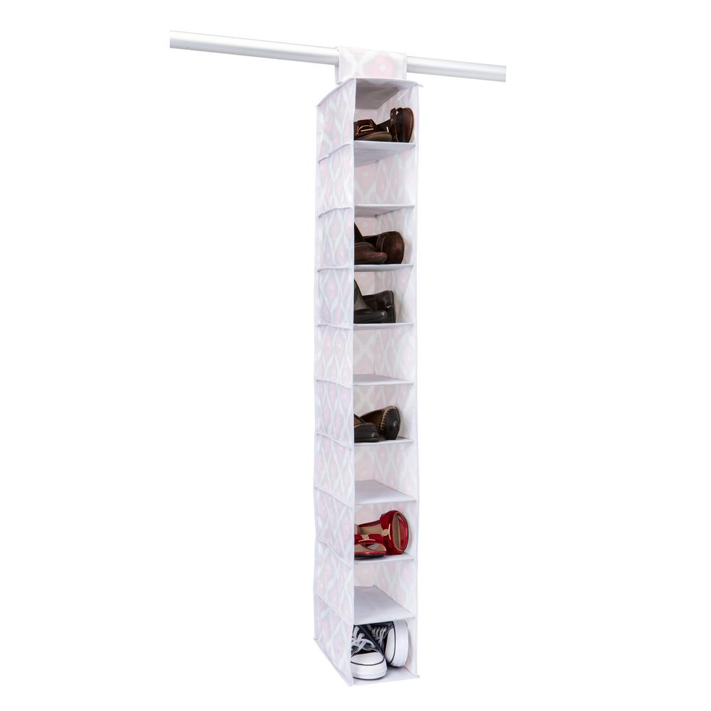 6 in. x 12 in. x 46 in. 10 Shelf Shoe